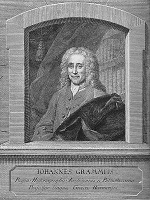 Hans Gram (historian) - Hans Gram