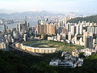 Happy Valley Racecourse - Image: Happy Valley Racecourse 1