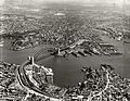 Harbour Bridge and City from North Sydney - 1937 (29964710186).jpg