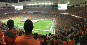 Hard Rock Stadium Panorama 2017