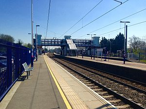 Harpenden railway station - Image: Harpenden Train Station