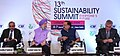 Harsh Vardhan, the Minister of State for Housing and Urban Affairs (IC), Shri Hardeep Singh Puri and other dignitaries at the inauguration of the 13th Sustainability Summit Everyone's Future, in New Delhi.JPG
