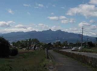 Mount Haruna Volcano in Japan
