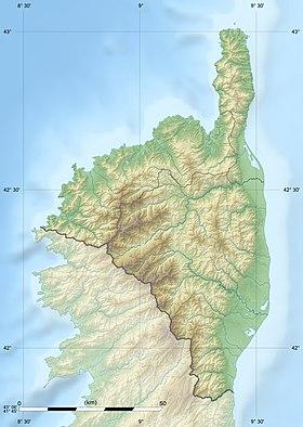 Voir sur la carte topographique deHaute-Corse