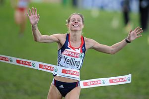 European Cross Country Championships - Hayley Yelling winning the 2009 women's race