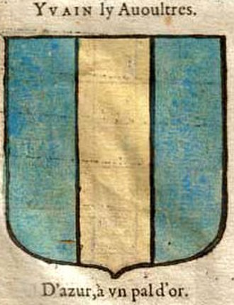 Knights of the Round Table - Yvain's attributed arms