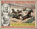 He Barnum & Bailey greatest show on earth - Terrific rush of five dashing thoroughbred race horses.jpg