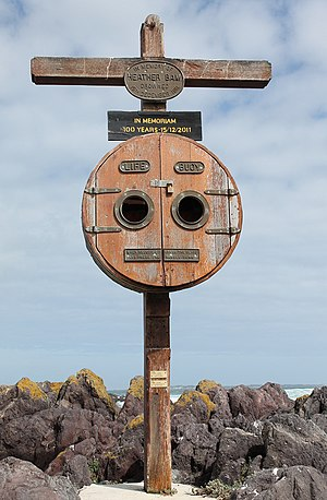 Bloubergstrand - Heather Bam monument, Bloubergstrand