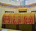 Hebron Grab der Patriarchen (Synagoge) Innen Grab 8.JPG