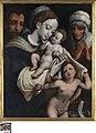 Heilige Familie met Elisabeth en Johannes de Doper, circa 1520 - circa 1594, Groeningemuseum, 0040027000.jpg