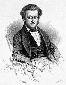 Heinrich Panofka, Lithographie von Marie-Alexandre Alophe (Quelle: Wikimedia)