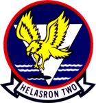 Helicopter Anti-Submarine Squadron 2 (US Navy) insignia 1965 (6423510).png