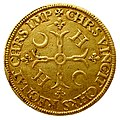 Henri II piéfort écu aux croissants revers 1552.jpg