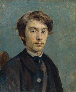 Henri de Toulouse-Lautrec - Portrait de Émile Bernard.jpg