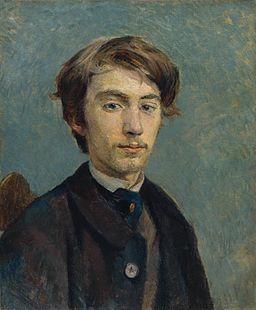 Henri de Toulouse-Lautrec - Portrait de Émile Bernard