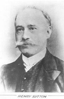 Henry Sutton (inventor) Australian inventor (1855–1912)