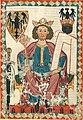 Henry VI, Holy Roman Emperor, Codex Manesse, ~1305-15 (34178450532).jpg