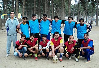 Rugby union in Afghanistan - Image: Herat Rugby Squad