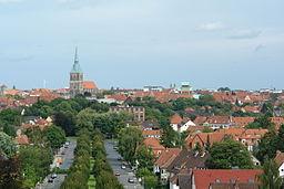 Hildesheim - View from the Berghölzchen