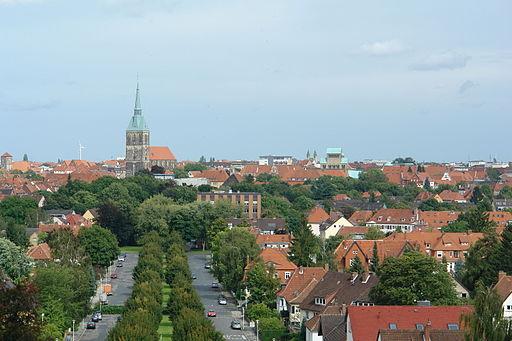 Hildesheim Blick vom Berghözchen