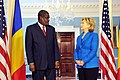 Hillary Clinton meets with Chadian Minister of Foreign Affairs Moussa Faki, July 2009-1.jpg