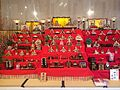 Hinamatsuri set - Hida takayama - March 2014.jpg