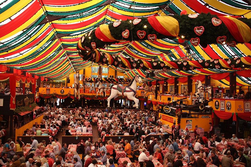 Hippodrom Zelt Oktoberfest