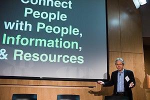 Hiroshi Ishii (computer scientist) - in Boston on April 6, 2012