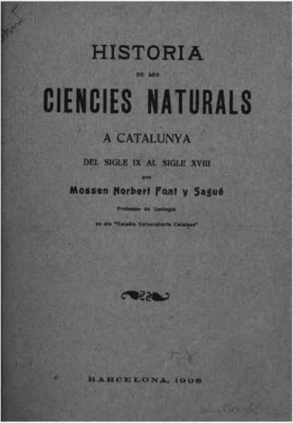 File:Historia de les ciencies naturals á Catalunya (1908).djvu