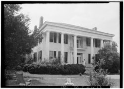 Glennville Plantation in a 1935 HABS photo