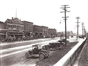 Murray Downtown Historic District - Downtown Murray City, Circa 1920
