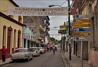 Holguín - Frexes Street in Holguin