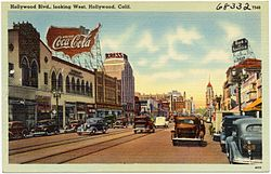 Hollywood Blvd., looking west, Hollywood, Calif (68332).jpg