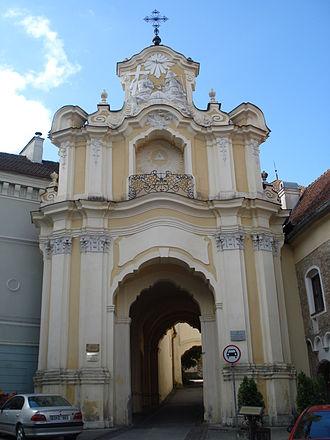 Church and monastery of the Holy Trinity, Vilnius - Basilian Gate