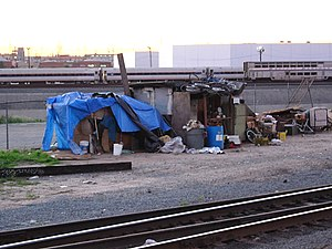 People experiencing homelessness living in car...