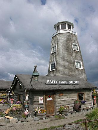 Salty Dawg Saloon - Landmark: The Salty Dawg Saloon