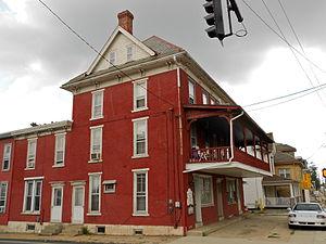 Honey Brook, Pennsylvania - Corner of US 322 and Rt 10