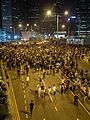 Hong Kong Umbrella Revolution -umbrellarevolution -UmbrellaMovement (15727606538).jpg