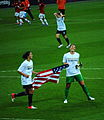 Hope Solo and Carli Lloyd at 2012 Summer Olympics final.jpg
