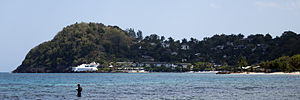 Round Hill Hotel and Villas - Image: Hopewell Hanover Jamaica round hill resort Photo D Ramey Logan