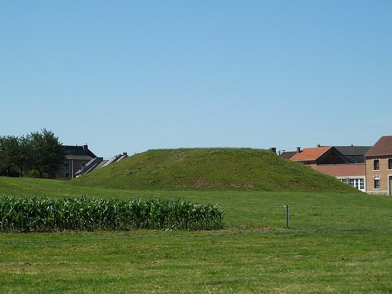 Motte, Horpmaal, Heers, Belgique