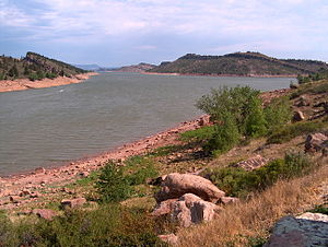 Horsetooth Reservoir - Image: Horsetooth Reservoir