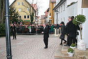 Horst Köhler in Brackenheim am 31. Januar 2009