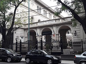 Hospital Italiano de Buenos Aires - Hospital Italiano de Buenos Aires shortly after its construction.