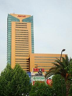 Hotel marriott santiago de chile wikipedia la - Boulevard suites santiago ...