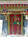 House door in Gyantse, Tibet -5876.jpg