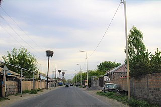Place in Ararat, Armenia