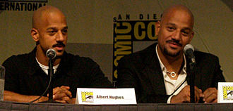 Hughes brothers - Albert (left) and Allen (right) Hughes at the 2009 San Diego Comic-Con International