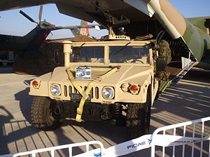 Chilean Marine Corps - HMMWV of the Chilean Navy.