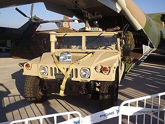 Chilean Marine Corps - HMMWV of the Chilean Navy.